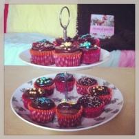 Mes premiers cupcakes!