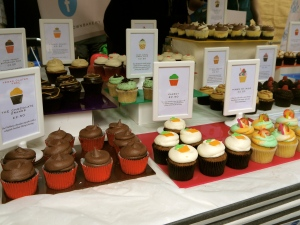 Cupcakes at Sunday Up Market